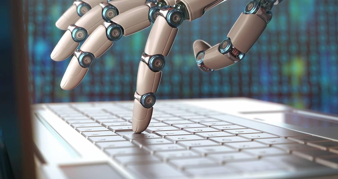 robot programming photo illustration